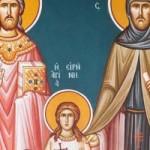 Dienstag der Lichten Woche, Neumartyrer Raphail, Nikolaos und Irini