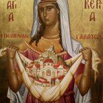 Martyrerin Glykeria, Sergios der Bekenner, Pavsíkakos von Sýnada