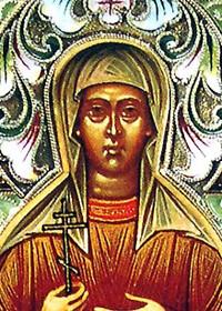 Martyrer Alexandros & Antonina, selige Theophanis & Pansémni