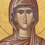 Selige Martyrerin Febronía, selige Dionysios und Dometios