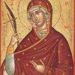 1. Lukasonntag (wunderbarer Fischfang), selige Euphrosyni und ihr Vater Paphnuti