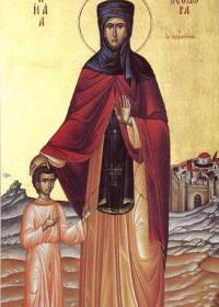 Sonntag vor der Kreuzerhöhung, selige Theodora, Euphrosynos der Koch