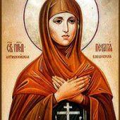 Selige Pelagia und Taϊsia, Martyrerjungfrau Pelagia