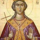 10. Lukassonntag (verkrümmte Frau), Großmartyrerin Barbára, Martyrer Christódoulos und Christodoúli