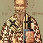 Ambrosios, Bischof von Mailand, Martyrer Athinodoros