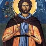 Seliger Theodosios, Eufrosynos, der Koch, Martyrerin Evanthia