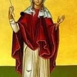 Martyrerin Charitini, Methodia auf der Insel Kimolos