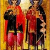 Martyrer Sergios und Bakchos