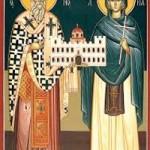 Kyprianos Martyrerpriester, Justini Jungfraumartyrerin