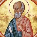 Prophet Hosea, Übertragung der Reliquien des heiligen Lazaros