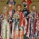 Sonntag vom Reichen und vom Lazaros, Akindynos, Pigasios, Aphthonios und die übrigen Martyrer