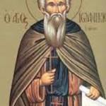 Ioannikios der Große, Martyrerpriester Nikandros, heiliger Georgios Karslidis