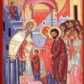 Die Einführung der Gottesgebärerin in den Tempel