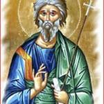 Apostel Andreas der Erstberufene