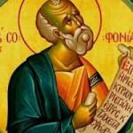 Prophet Zefanja, Νeumartyrer Angelis
