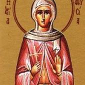 Selige Martyrerin Anysia, Neumartyrer Gedeon