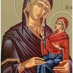 Empfängnis der heiligen Anna, die Prophetin Anna