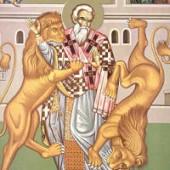 Übertragung der Reliquien des Ignatios der Gottträgers, Martyrer Sarbílos & Bebaía