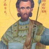 Martyrer Polyevktos, Neumartyrerin Parthena von Edessa