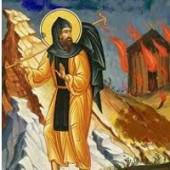 Martyrer Hermylos und Stratónikos, seliger Maximos, der Kavsokalivít