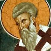 Tarasios Patriarch von Konstantinopel, Martyrerpiester Riginos, Bischof von Skopelos