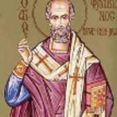 Martyrer Pamphilos und seine Gefolgschaft, Flavianos Patriarch von Konstantinopel