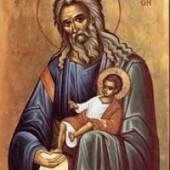 Symeon, der Gottesträger, Prophetin Anna, Neumartyrer Stamatios, Johannes & Nikolaos