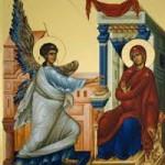 Die Verkündigung der Gottesgebärerin, Der Große Kanon wird gesungen, wie es die Synode der Kirche bestimmt