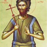 Seliger Alexios, der Mensch Gottes, seliger Theostíriktos, der Bekenner