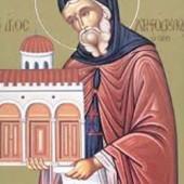 Martyrer Sabbinos, seliger Christodoulos von Patmos