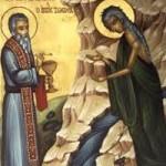 5. Fastensonntag der seligen Maria der Ägypterin, Diádochos Fotikís