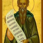 Seliger Johannes Klimakos, Evbouli, Mutter des heiligen Panteleímon