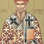 Montag der Lichten Woche, Martinos, Papst von Rom