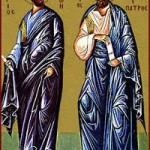 Apostel Iason und Sosipatros, Martyrerin Kerkyra, Johannes der Kaloktenis