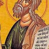 Prophet Jeremiah, selige Isidora