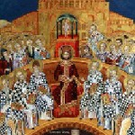Die heiligen 318 Väter des 1. Ökumenischen Konzils, seliger Symeon