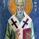 Epiphanios von Konstantia auf Zypern, Germanos von Konstantinopel