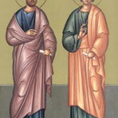 Apostel Karpos & Alphaios, Neumartyrer Alexandros