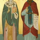 Die apostelgleichen Kyrillos und Methodios, Martyrerpriester Mókios, Martyrerin Olympia