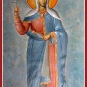 Übertragung der Reliquien des Theodoros, des Heeresführers, Martyrerin Kalliopi