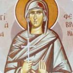 Selige Martyrerin Febronía, Martyrer Orentios und seine sechs Brüder