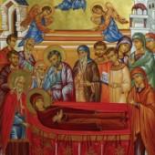 Entschlafen der heiligen Anna, Diakonin Evpraxia, Gedenken des 5. Ökumenischen Konzils