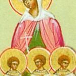 Apostel Thaddäus, Martyrerin Vassa und ihre Kinder