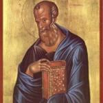 Apostel und Evangelist Johannes der Theologe