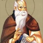 Chariton der Bekenner, Prophet Barouch, Isaak der Syrer, Bischof von Ninive