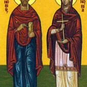 Apostel Kleopas und Artemas, Martyrer Zinovios und Zinovia