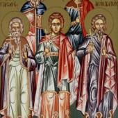 Martyrer Akindynos, Pigasios, Aphthonios Elpidophoros & Anembodistos