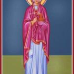 Großmartyrerin Anastasia, die Giftbefreierin, Chrysogonos, Theodoti und die anderen Martyrer