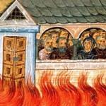 Die Heiligen 20.000 in Nikomedeia