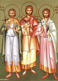 Martyrer Thyrsos, Apollonios, Arrianos und die anderen Martyrer